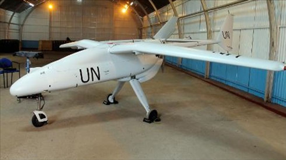 U.N. calls for using drones to help humanitarian missions stay safe