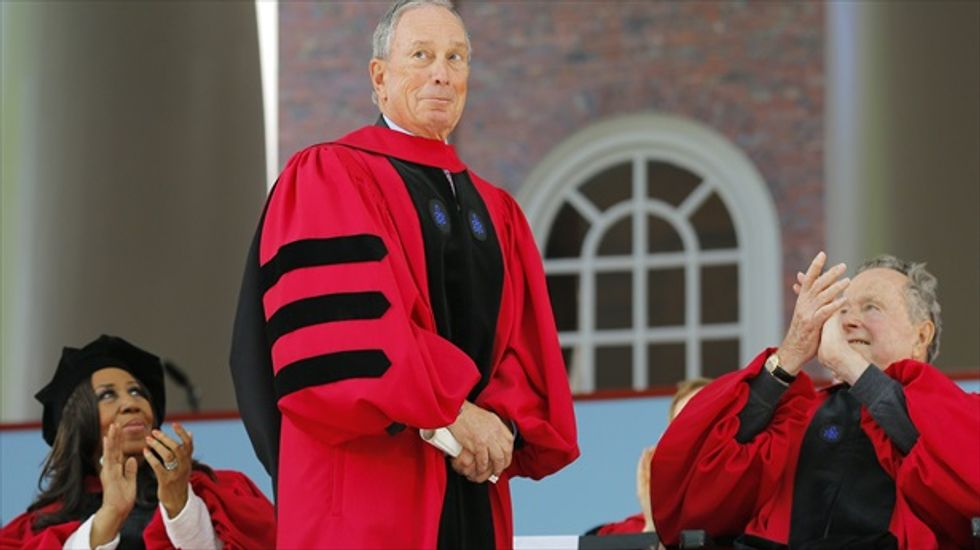 Michael Bloomberg tells Harvard graduates: Liberals are trying to 'repress' conservatives