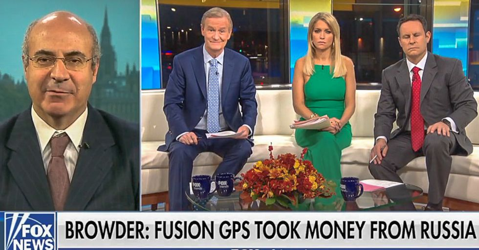 Fox guest blurts out 'bullsh*t' after host says FBI fell for anti-Trump intel firm in 'fake dossier business'