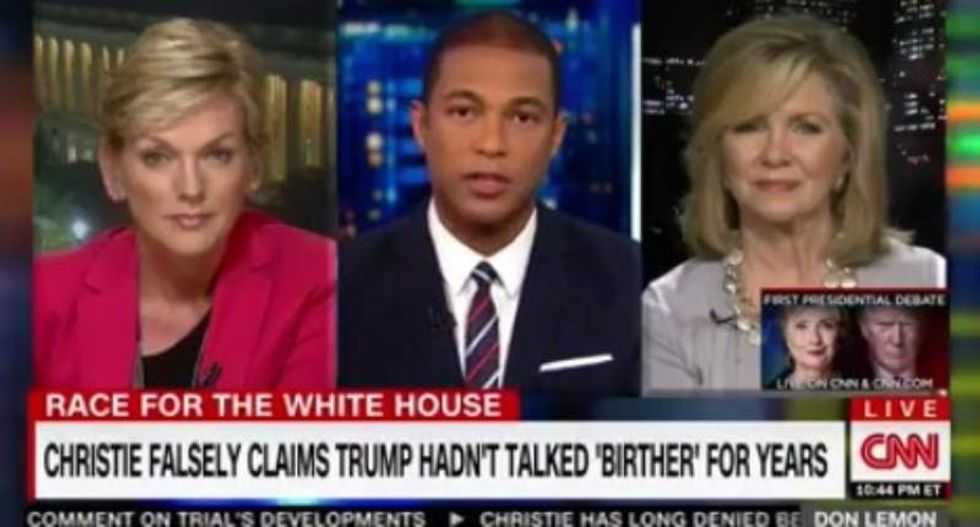 This Trump-backer finally played the Whitewater card — and Don Lemon let her have it