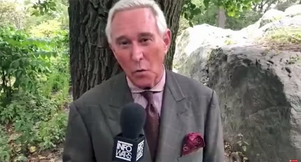 Roger Stone predicts GOP's 'lethal pygmies' will use 25th Amendment to push 'giant' Trump out