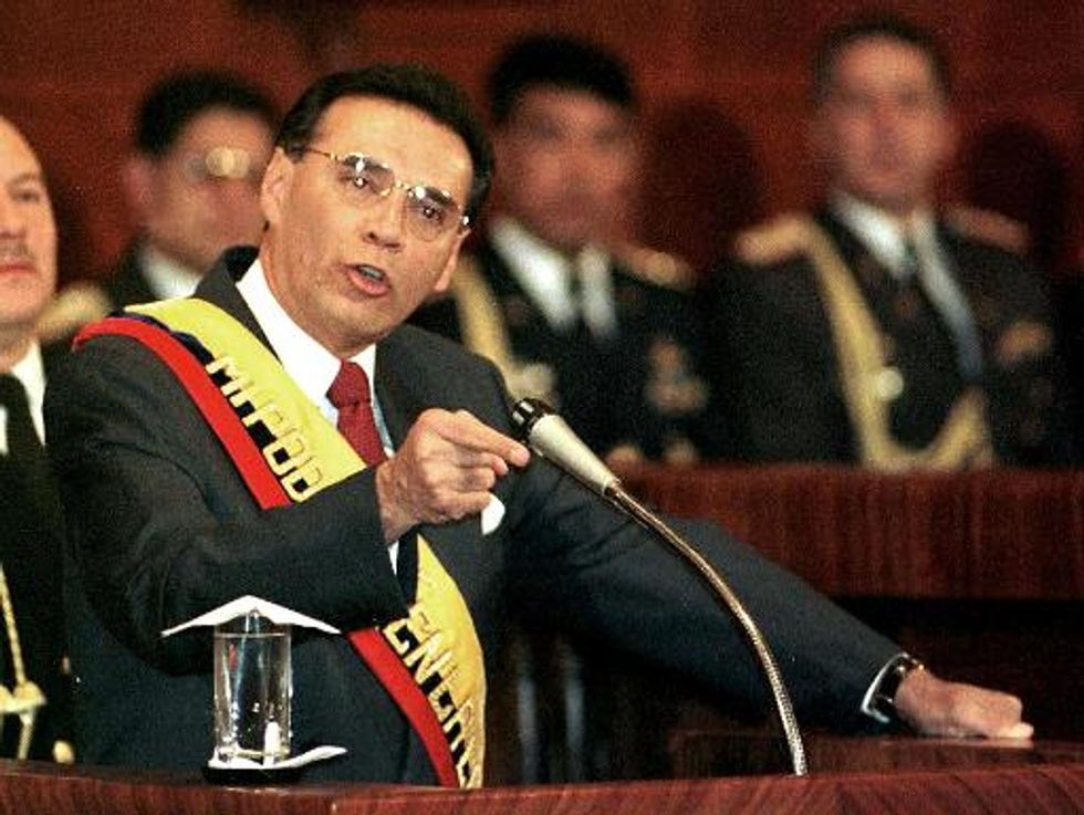 Ecuador sentences ex-president living in the U.S. to 12 years in jail for corruption