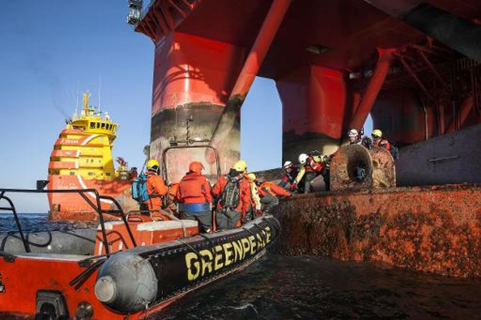 Norway removes Greenpeace ship from contested Arctic drill site