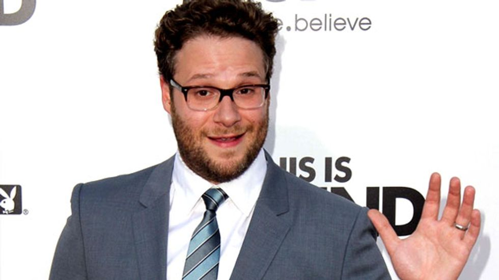'Triggered as f*ck': Alt-right melts down after Seth Rogen jokes he looks like white nationalist's bodyguard