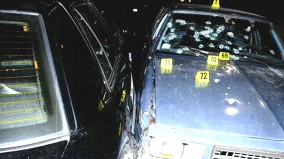 Six Cleveland cops indicted for hail of bullets that killed two unarmed car chase suspects