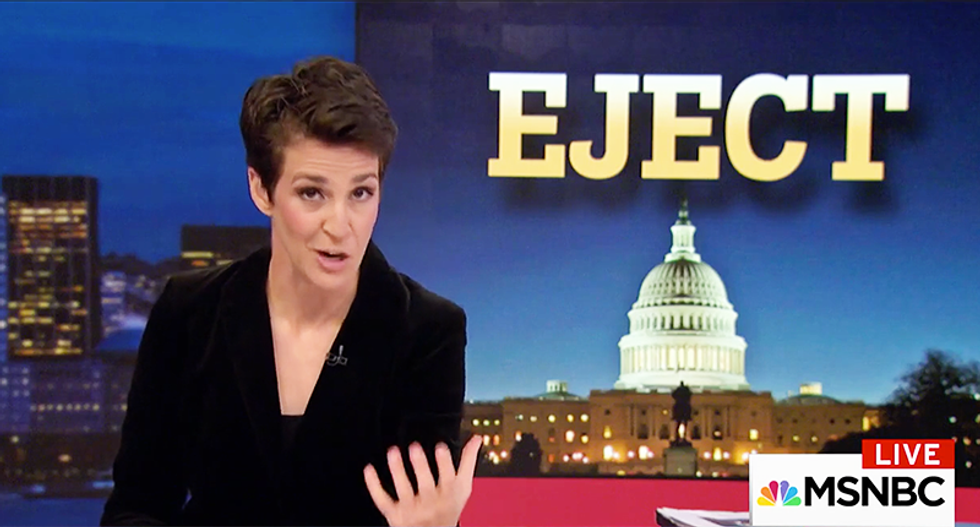 Maddow busts GOP Senate staffer involved in Russia investigation who did her own private search for Clinton's emails