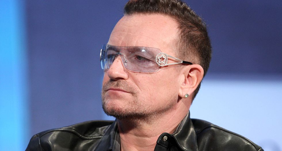 U2's Bono disgusted by Trump: He's 'potentially the worst idea that ever happened to America'