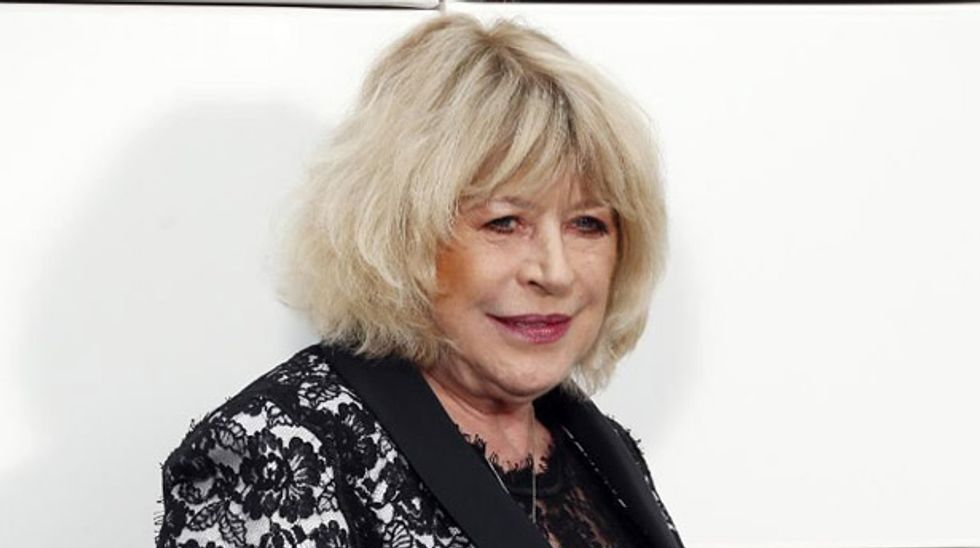 Rolling Stone muse Marianne Faithfull hospitalised in Greece with broken hip
