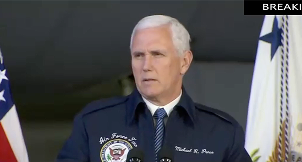 Mike Pence: 'There is no greater force for peace in this world' than nuclear weapons
