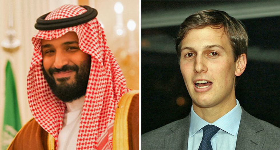 Saudi Crown prince said he has Kushner 'in his pocket' after allegedly receiving sensitive information from the President's Daily Briefing