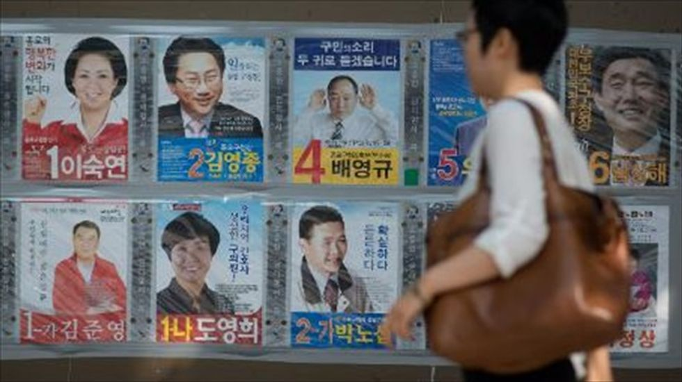 South Korean elections become referendum on response to deadly ferry disaster
