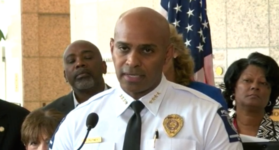 Charlotte police chief: Shooting video to be released 'when there is a compelling reason'