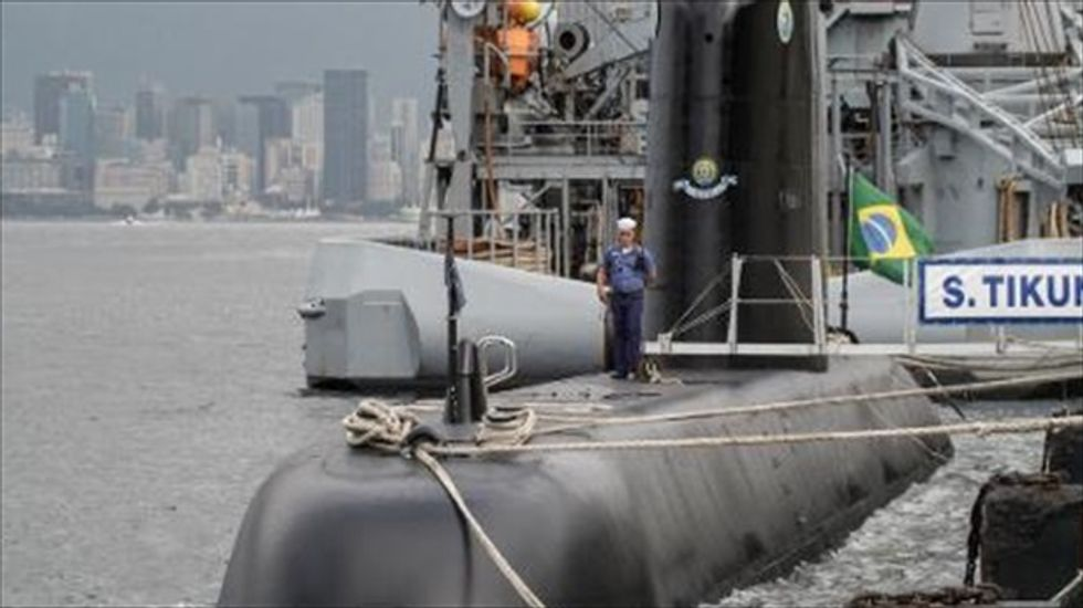 Brazil builds nuclear submarine to patrol offshore oil fields