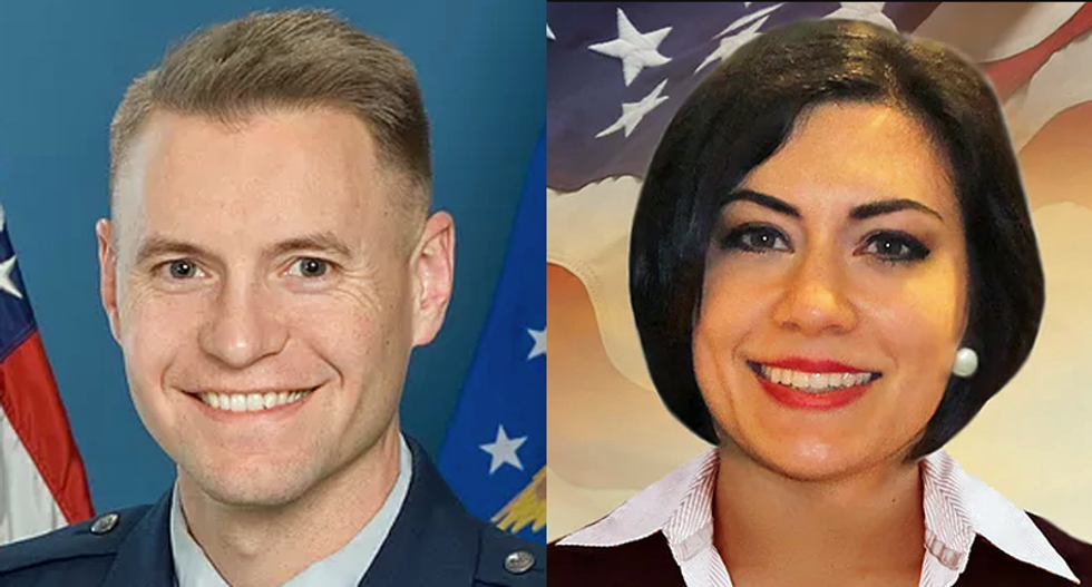 Two Senate candidates busted using aliases are possibly married to each other -- but no one can figure it out