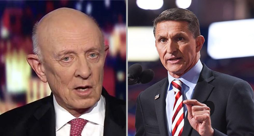 Ex-CIA director James Woolsey says being thrown under the bus 'unfortunate yet predictable'