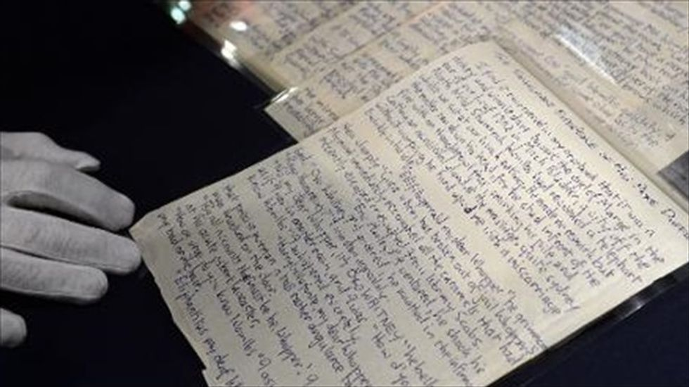John Lennon drawings and manuscripts snapped up in two hours at NYC auction