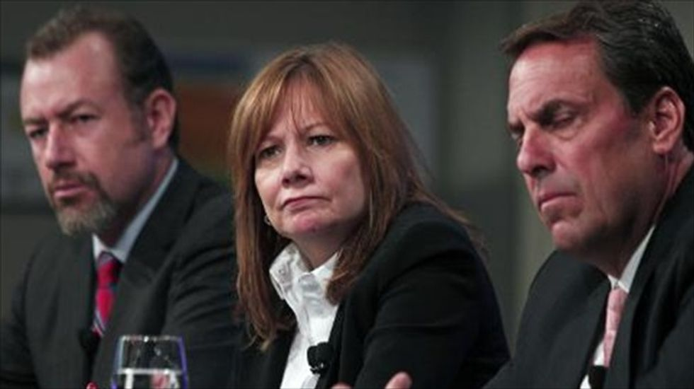General Motors fires 15 over deadly ignition problem but says there was 'no coverup'