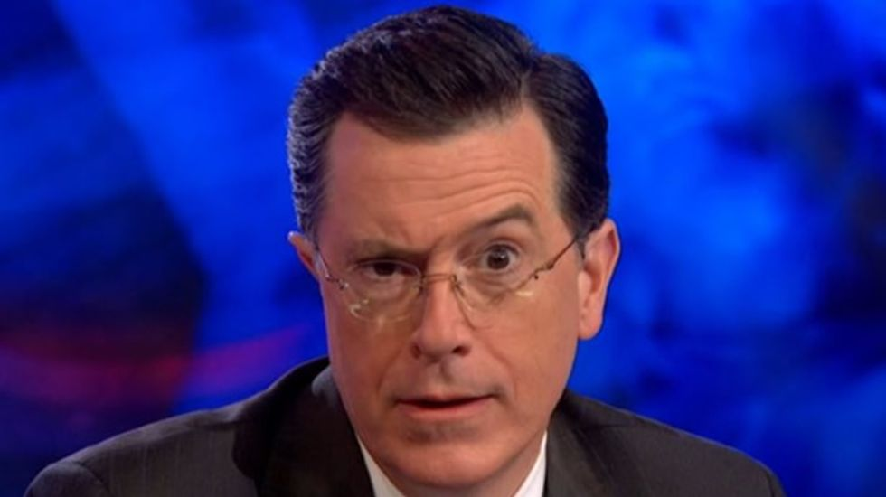 Stephen Colbert slams GOP plan to portray Hillary Clinton as too feeble to be president