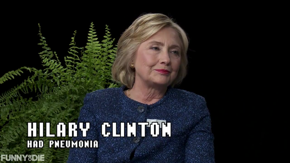 WATCH: Hillary Clinton gets grilled in hilariously awkward 'Between Two Ferns' interview