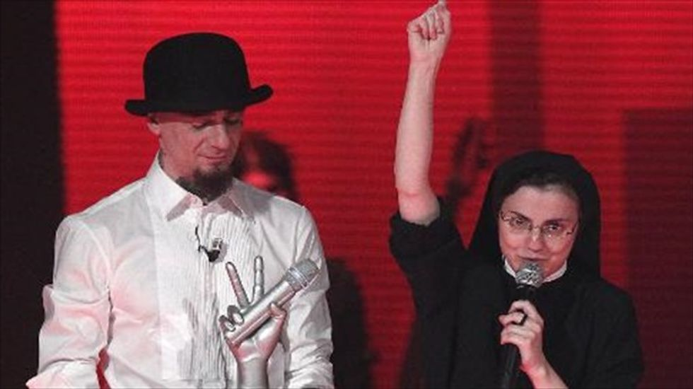 A heavenly 'Voice': Singing nun wins Italian version of popular talent show
