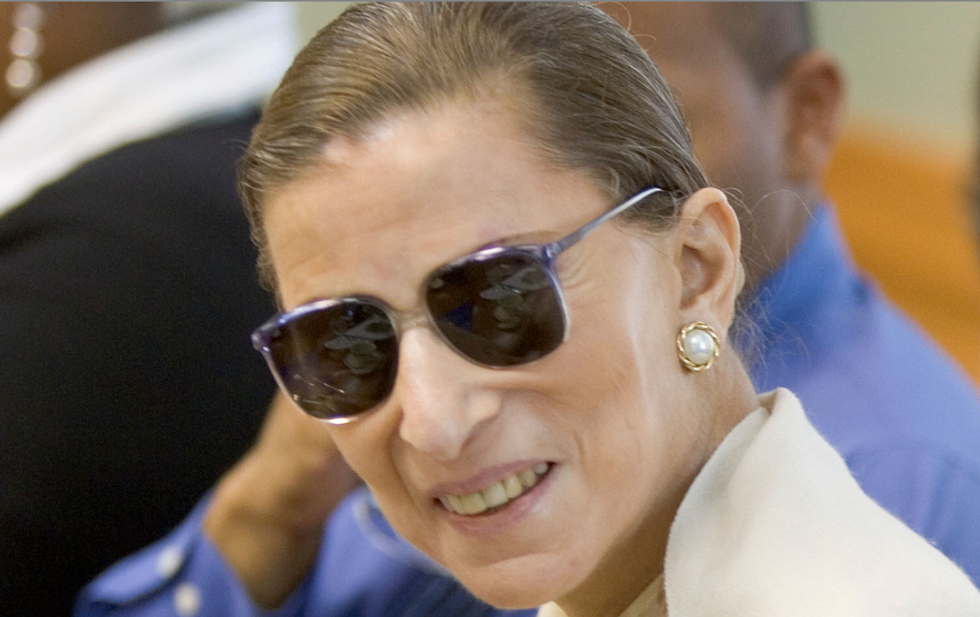 Supreme Court Justice Ruth Ginsburg back at court after cancer bout