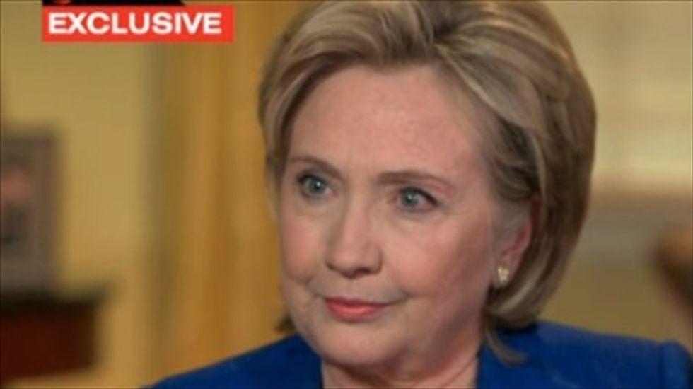 Oh boy, 18 months of hearing conservatives gripe that Hillary Clinton parts  her hair wrong