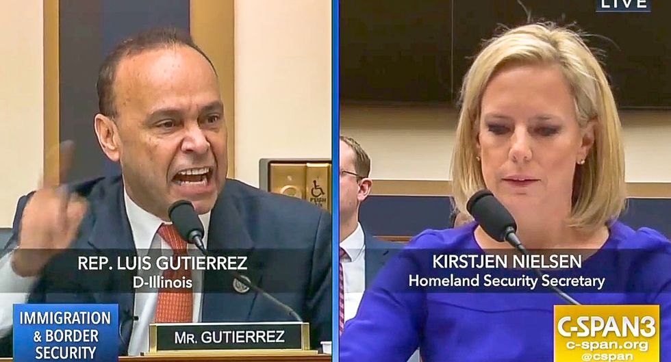 Luis Gutierrez slams fake Christians at DHS hearing: Trump would have killed Jesus with inhumane border policies