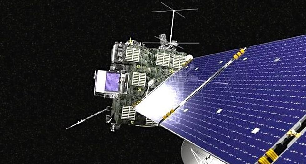Rosetta spacecraft to end 12-year trek with comet crash landing