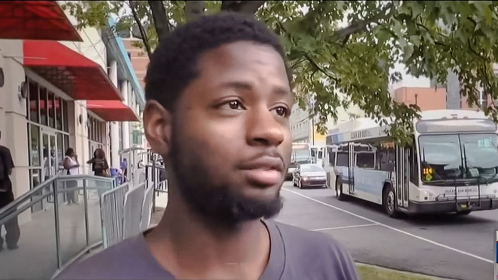 Charlotte man perfectly explains protests: 'Legalize being black... stop killing our people'