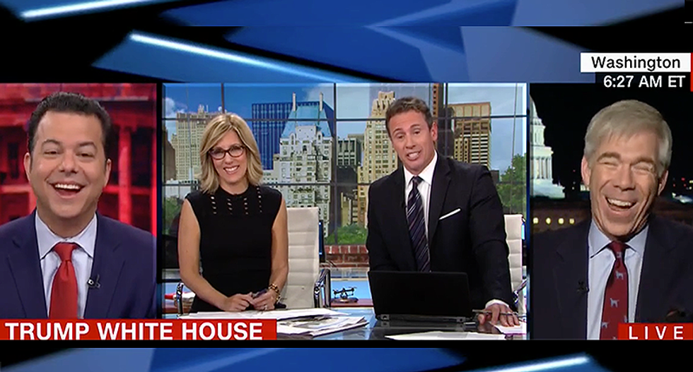 CNN panel explodes with laughter imagining GOP response to guilty pleas from Clinton campaign