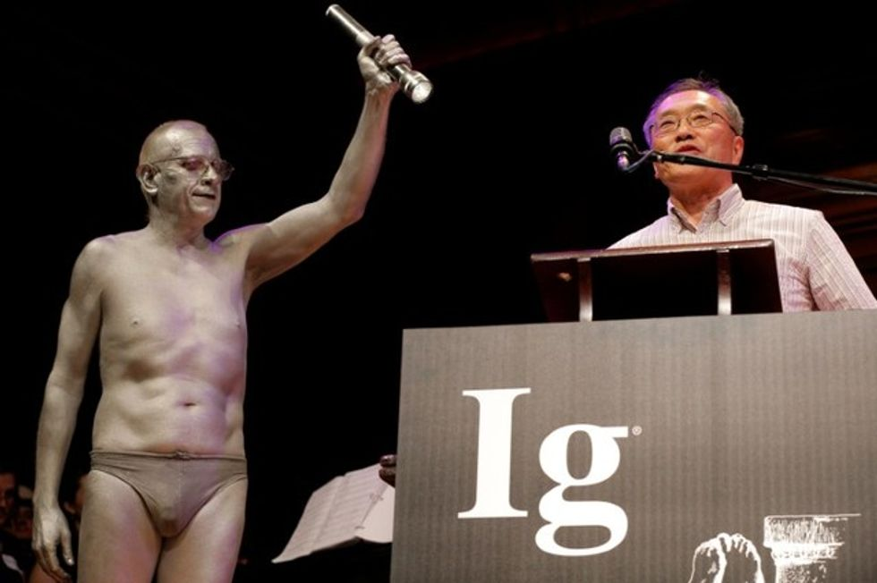 Work on sex life of rats, life as a badger honored at Ig Nobel Prizes