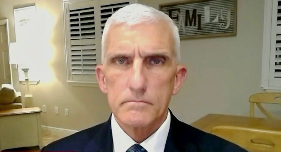'Our allies think we're idiots': Retired Gen. Mark Hertling slams Trump for ordering troops to cut and run in Syria