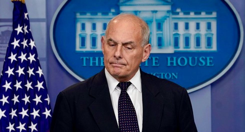 White House Chief of Staff John Kelly tightens security clearance procedures post-scandal