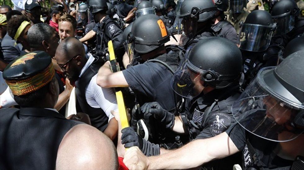 'We're not backing down': More than 100 arrested during protest at McDonald's HQ