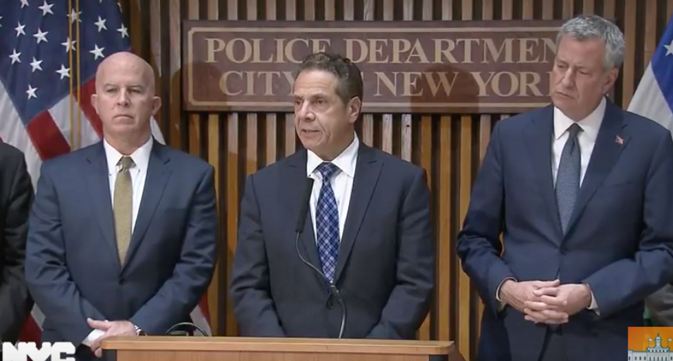 Authorities hold press conference after deadly truck accident in NYC
