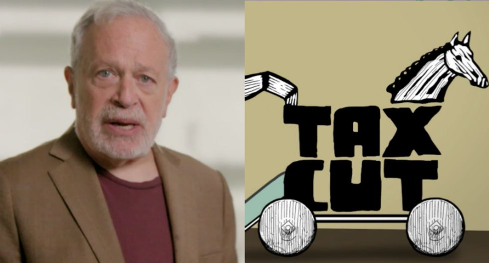 Robert Reich exposes Republicans' tax cut 'Trojan Horse' for what it is -- a con