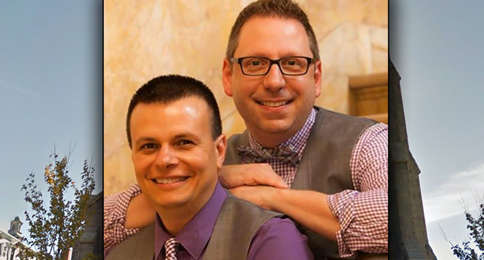 Gay music director says he was fired from Catholic church job after same-sex marriage