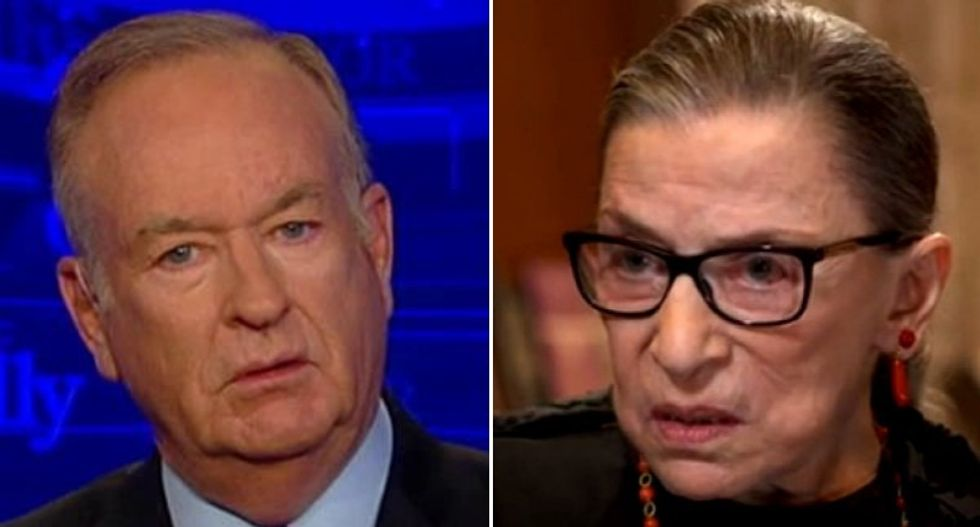 Bill O'Reilly reacts to Ruth Bader Ginsburg's surgery: Trump gets another justice 'soon'
