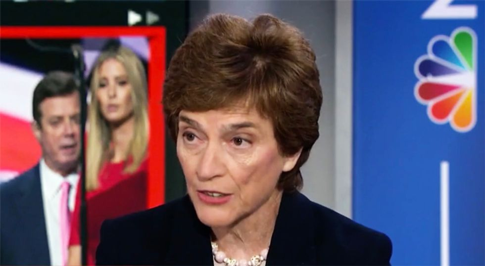 Ex-Congresswoman who nearly impeached Nixon calls Trump a 'wimp' for refusing to talk to Mueller