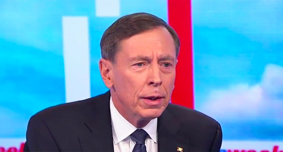 'We're all fair game': Ex-General Petraeus fires back at Huckabee Sanders for saying military can't be criticized