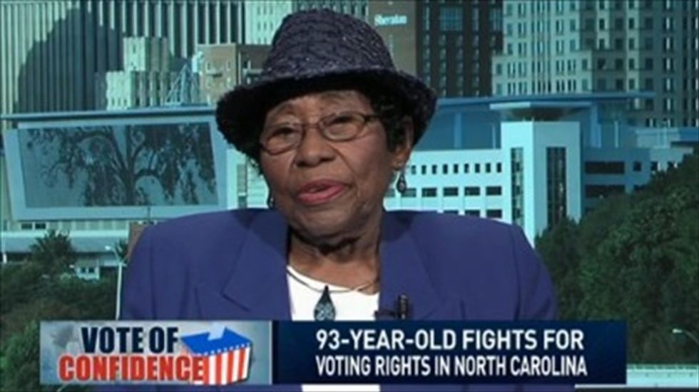 93-year-old activist: NC voting restrictions worse now than during the Jim Crow era