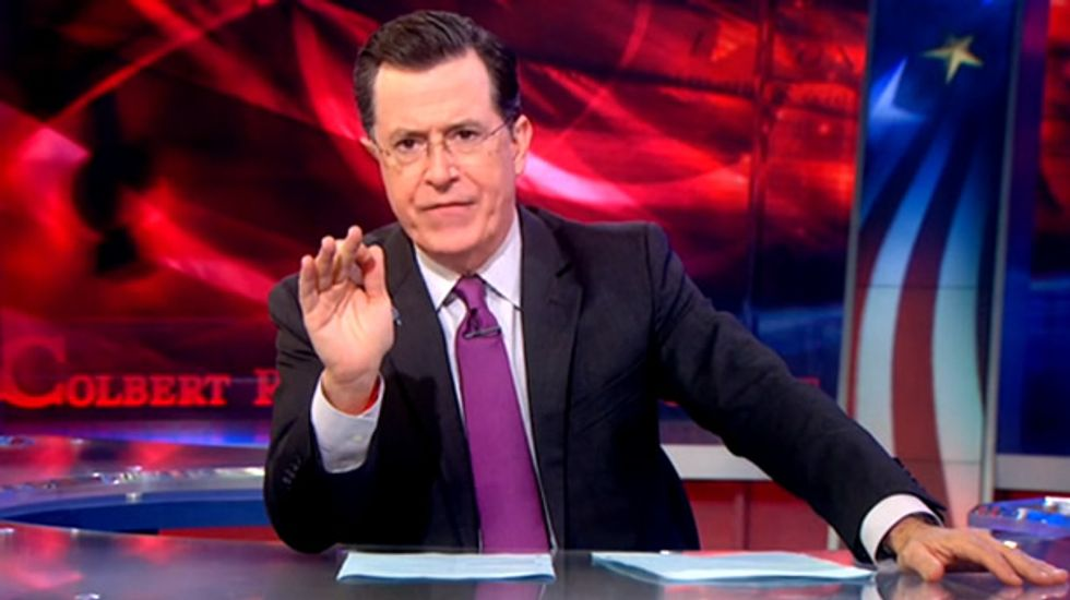 Colbert savages justice system for imprisoning the poor because they can't pay court fees