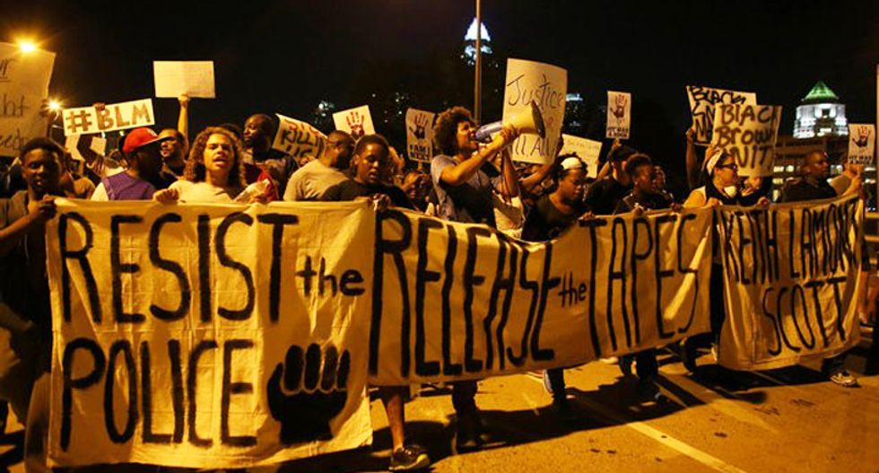 Charlotte march peaceful as pressure rises to release shooting tapes