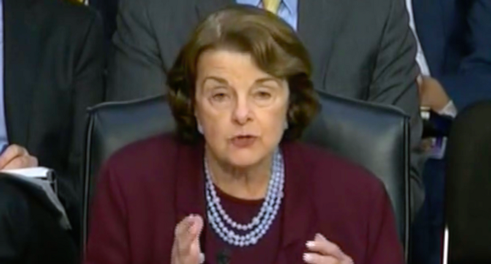 Dianne Feinstein just sent out a cryptic statement about secret 'information' on Brett Kavanaugh's nomination