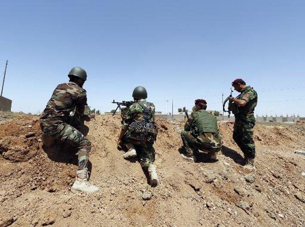 Iraqi air strike on Kurdish forces 'kills six'