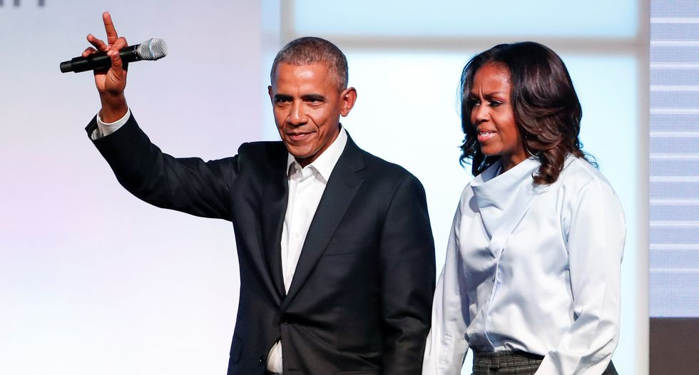 Former President Obama urges patience in push for grassroots change