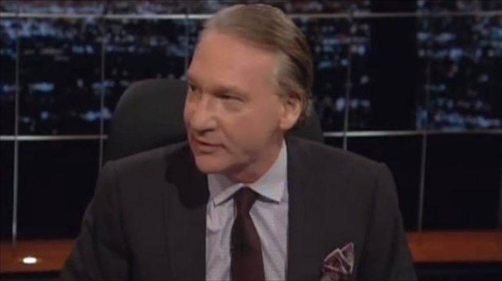 Bill Maher: Eric Cantor was taken down by voters 'afraid of Obama and his Negro army'