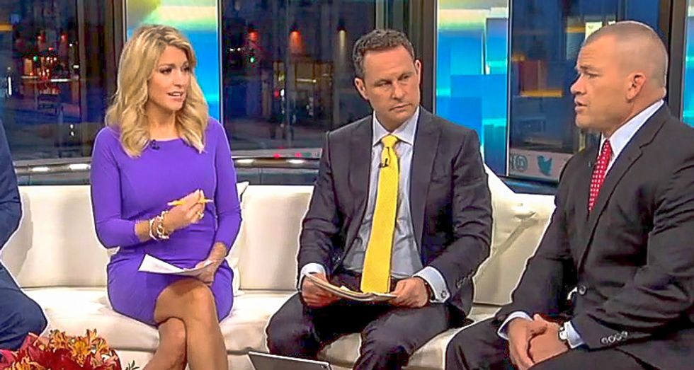 'How do we eliminate evil?': Fox host mindlessly rants solution to terrorism is ending 'evil in this world'