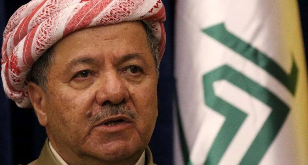Iraq Kurd leader: 'Time has come' for statehood referendum