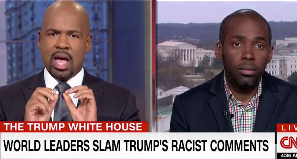 'It's a simple question': CNN's Blackwell blisters Trump defender refusing to say Trump was wrong to call African nations 'sh*tholes'
